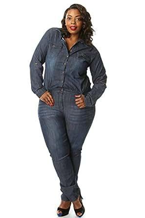 5d02cb8bd475 Plus size denim jumpsuits bing images jpg 297x445 Plus size denim jumpsuits  for women