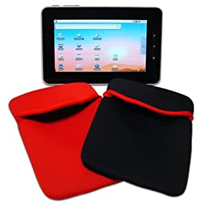 "Time2® 7"" Android Tablet PC MID Netbook Sleeve Pouch Neoprene Protective Cover Case ePad aPad UK"
