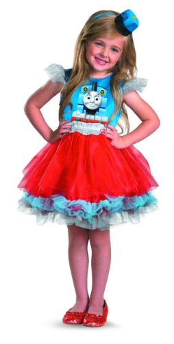 Thomas and Friends Girls's Frilly Thomas Costume