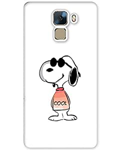 Huawei Honor 7 Back Cover Designer Hard Case Printed Cover