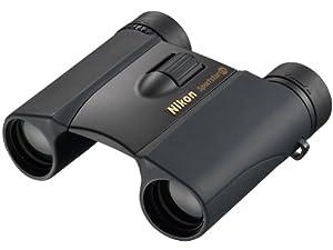 Nikon 10x25 Sportstar EX Prismes en toit, étanches, compactes, finition noire