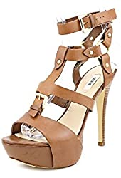 Guess Ormandi Leather Dress Sandals Shoes