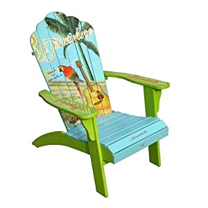 Margaritaville Model SA 623142 Classic Adirondack Chair Patio