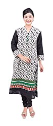 Krivi By Kk Women's Cotton Kurti (KRV-30-B_Multi-Coloured_M)