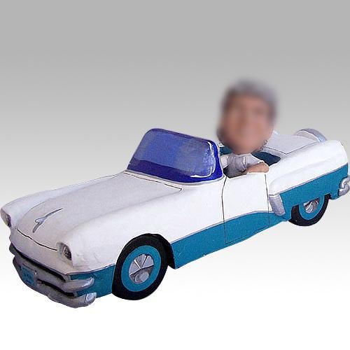 Picture of Custom sculpted car bobblehead doll (Bobble Head Figures)