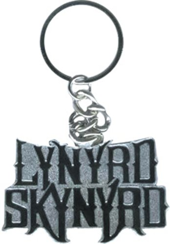 Licenses Products Lynyrd Skynyrd Logo Metal Keychain - 1