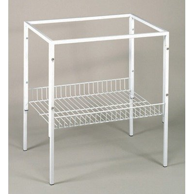 Cheap Deluxe Bird Cage Stand in White (TD99-WH)