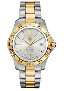 TAG Heuer Men's WAF1120.BB0807 Aquaracer Two-Tone Watch