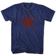 Star Indigo Soccer T-shirt