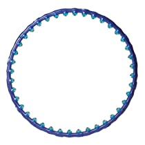 Wide Hula Hoop with Double Massage Ball / Big-ball Massage Hoop for Experienced User