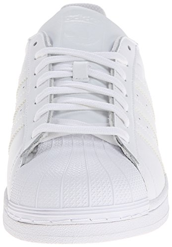 Adidas Originals Men's Superstar Foundation Casual Sneaker, White/Running White/White, 9 M US
