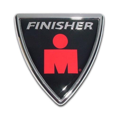Elektroplate Ironman Chrome Auto Emblem (Shield