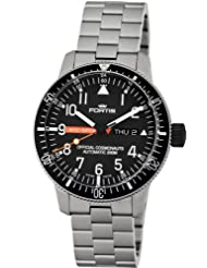 Fortis Men's 658.27.81 M B-42 Official Cosmonauts Titanium Stainless-Steel Automatic Date Watch