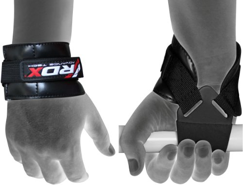 RDX Palestra Fitness Cinghie Sollevamento Pesi Supporto Fasce Polso Peso Bodybuilding