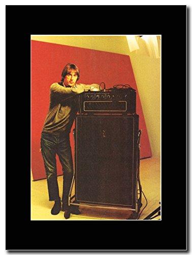 Paul Weller-Vox Amp & Cab Magazine Promo su un supporto, colore: nero