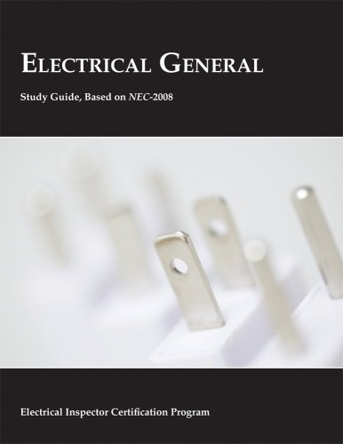 Electrical General Study Guide, 2008 NEC - International Assocation of Electrical Inspectors - IA-360038 - ISBN: 1890659495 - ISBN-13: 9781890659493
