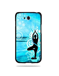 alDivo Premium Quality Printed Mobile Back Cover For LG L90 / LG L90 Printed Peace / Yoga Mobile Case / Cover (MKD078)