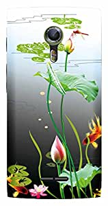 TrilMil Printed Designer Mobile Case Back Cover For Alcatel Onetouch Flash 2 / Alcatel One touch Flash 2