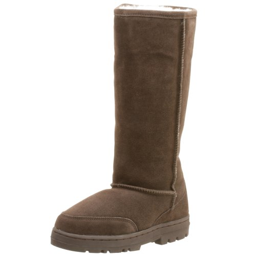 Cheap Jacques Levine Women's Tammy Suede/Shearling Boot Slipper (B000HQMXCU)