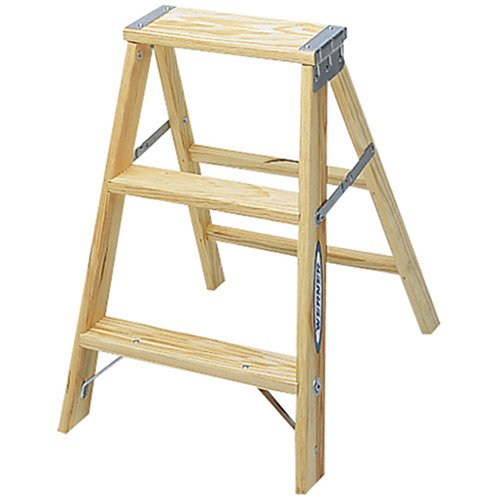 Folding step stool chair - Babcock Co Inc Bw336 Wood Step Ladder 6 Type 3