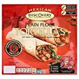 Discovery 8 X Preservative Free Plain Flour Tortillas 320G