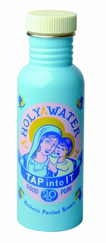 Holy Water Plastic Water Bottle