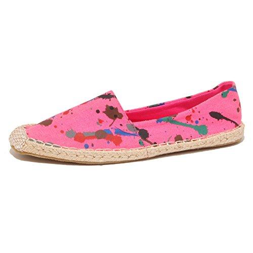 7728P mocassino espadrillas fucsia GIO CELLINI scarpe donna loafer women [41]