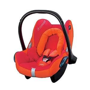 bezug f r babyschale maxi cosi cabriofix design hot orange baby. Black Bedroom Furniture Sets. Home Design Ideas