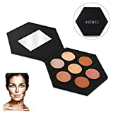 RUIMIO Contour Kit and Highlighting Cream Contour Palette - 7 Colors