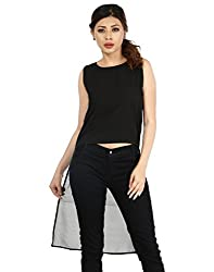 InDzone Casual Sleeveless Solid Women's -M