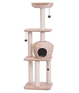 nobby nanuk cat play system tower tree pet. Black Bedroom Furniture Sets. Home Design Ideas