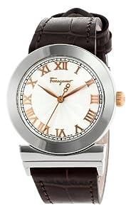 Salvatore Ferragamo Women's F72SBQ9902 S497 Grande Maison Quartz Brown Genuine Leather Band Watch from Salvatore Ferragamo