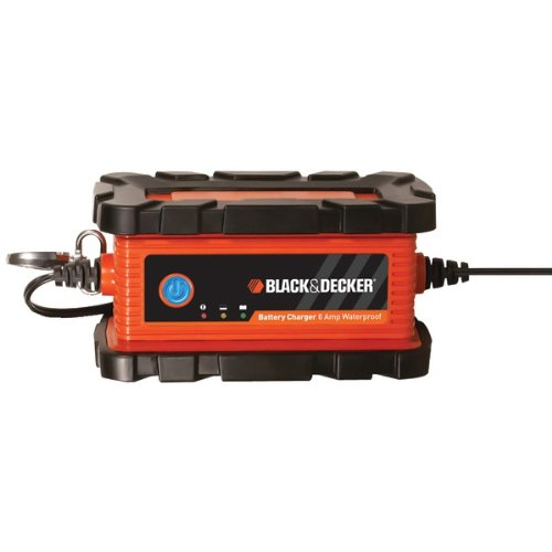 BLACK & DECKER BC6BDW Waterproof 6-Amp Battery Charger/Maint