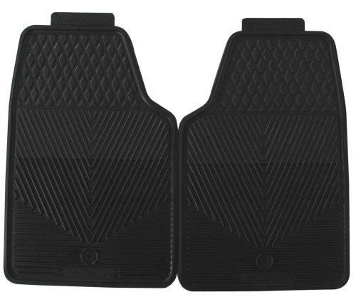 Highland 4602500 All-Weather Black Front Seat Floor Mat front-1063610