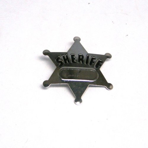 Fun Express Metal Sheriff's Badges (1 Dozen)