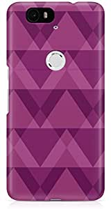Nexus 6P Back Cover by Vcrome,Premium Quality Designer Printed Lightweight Slim Fit Matte Finish Hard Case Back Cover for Nexus 6P