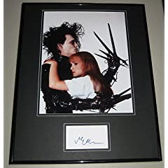 Buy Winona Ryder Signed Framed 16x20 Photo Display Edward Scissorhands by The Steel City Auctions Gallery