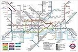 ロンドン地下鉄マップ London Underground Map ポスター