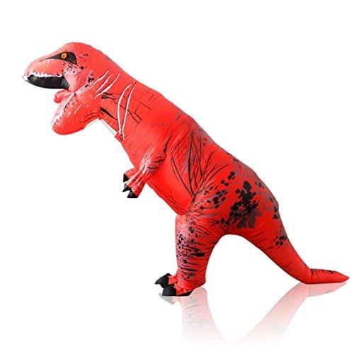 Koolee T-Rex Inflatable Costume Adult Size Halloween Dress Up Prop (X Men Storm Halloween Costume)