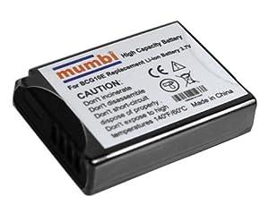 mumbi Premium Ersatzakku für Panasonic Lumix DMC-TZ6/TZ8/TZ10/TZ18/TZ22/ZX3