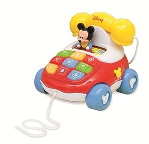 Clementoni 14561 Disney - Teléfono con diseño de Mickey