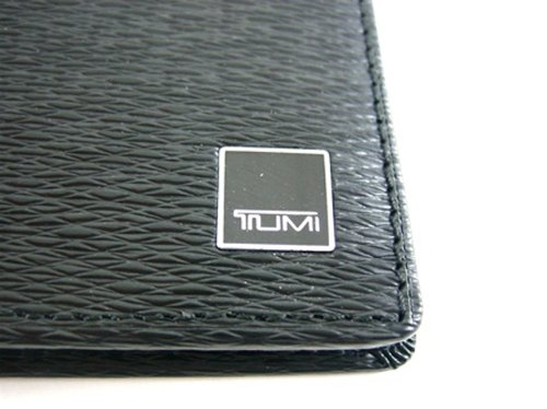 Tumi Tumi Monaco Black Leather Double Billfold Wallet
