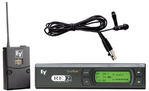 Ev Re2L10 Lapel Mic System With Olm-10 Mic - New