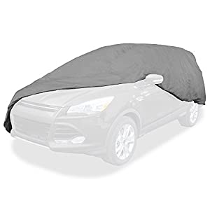 Budge UB-0 Lite SUV Cover Fits Small SUV's up to 162 inches - (Polypropylene, Grey)