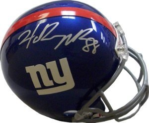Hakeem Nicks signed New York Giants Full Size Replica Helmet by Athlon Sports Collectibles