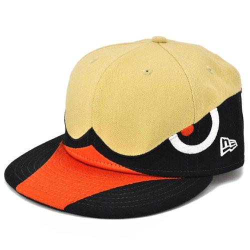 ニューエラ キャップ 福岡ダイエーホークス ヘルメット ブラック/ベージュNEWERA CAP FUKUOKA DAIEI HAWKS HELMET BLACK/BEIGE N0009064