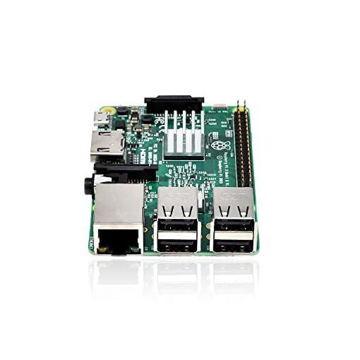 Raspberry Pi 3 B+ Bare Kit with Heatsinks and Power Supply