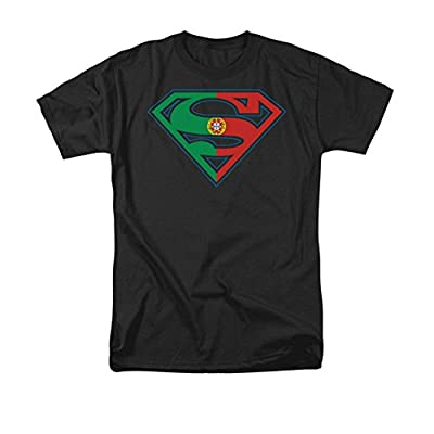 Superman Portugal Flag Shield T-Shirt