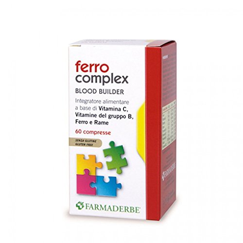 Farmaderbe Ferro Complex Integratore Alimentare 60 Compresse