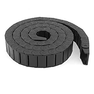 Cable Drag Chain Wire Carrier 15mm x 30mm R28 1.5M Length